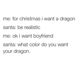 christmas, dragon, and boyfriend image