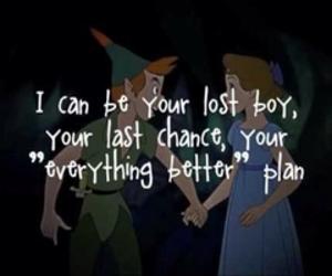 all time low, peter pan, and Lyrics image