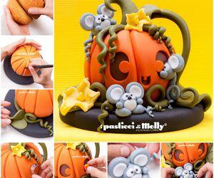 Cake Decorating, diy, and Halloween image