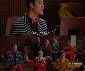 funny, glee, and kitty image