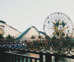 disney, fun, and disneyland image