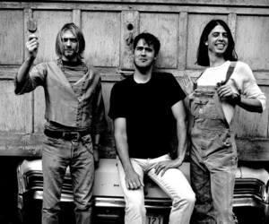 nirvana, kurt cobain, and grunge image