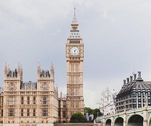 london, Big Ben, and travel image