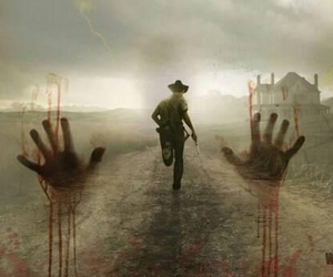 twd, the walking dead, and rick image
