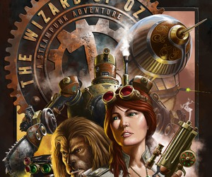 adventure, steampunk, and The wizard of OZ image