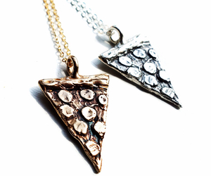 necklace, pizza, and handmade image