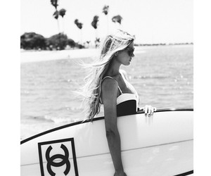chanel, girl, and summer image