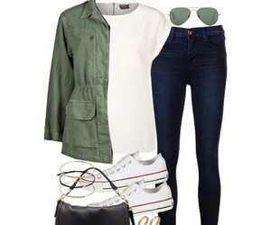 clothes, converse, and outfit image