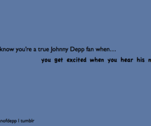 excited, johnny depp, and true image