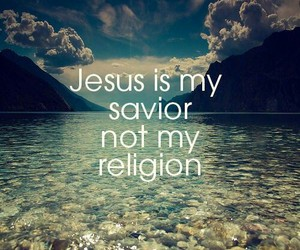 jesus, religion, and savior image