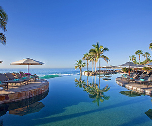 pool, beach, and hotel image
