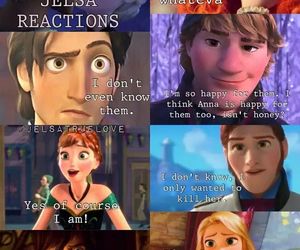 anna, frozen, and hanna image