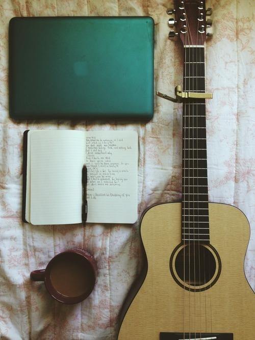 book, notebook, and pen image