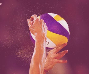 ballon and volleyball image