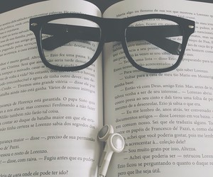 amazing, book, and glasses image