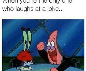 funny, joke, and spongebob image