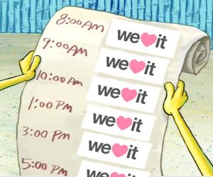 we heart it, weheartit, and spongebob image