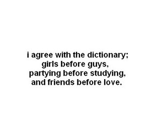 :), dictionary, and girls image