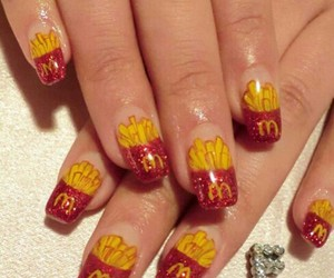 McDonalds and nails image