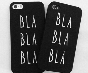 girl, bla bla bla, and coque image