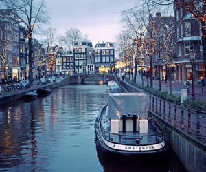 amsterdam and lights image