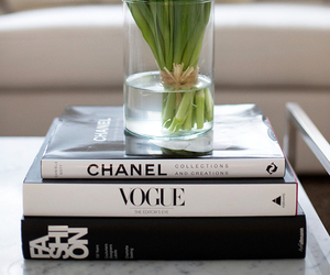 flowers, chanel, and vogue image