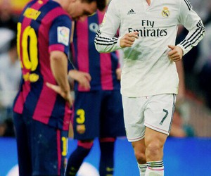 real madrid, cristiano ronaldo, and el clasico image