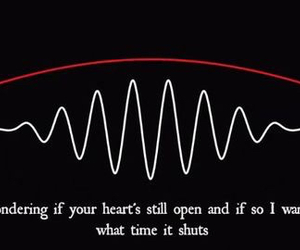 acrtic monkeys and wanna know image