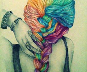 drawing and hair image