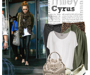miley cyrus and Polyvore image