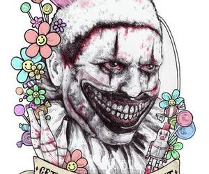 ahs, clown, and american horror story image