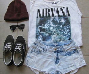 fashion, outfit, and nirvana image