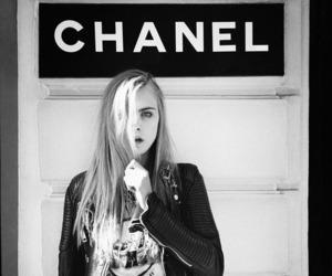 chanel, model, and cara delevingne image