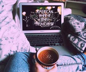 american horror story, ahs, and coffee image
