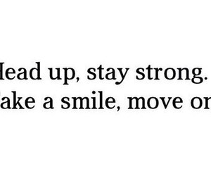 smile, stay strong, and fake image