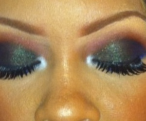 eye shadow, eyes, and make up image