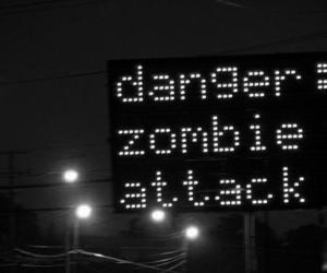 zombie, attack, and danger image