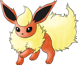 pokemon and flareon image
