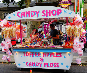 apple, candy, and candy shop image