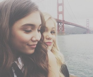 rowan blanchard, olivia holt, and girl meets world image