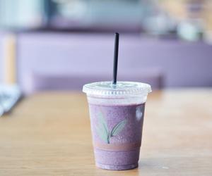 drink, food, and purple image