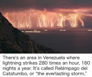 storm and venezuela image