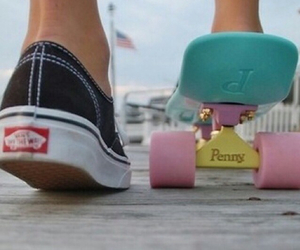 skateboard and vans image