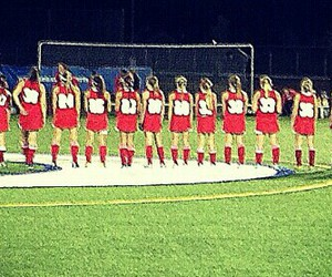team, field hockey, and friends image