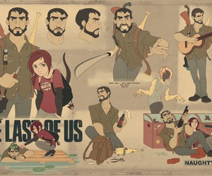 the last of us, joel and ellie, and noty dog image