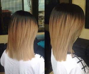 haircut, hairstyle, and ombre image