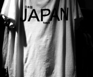 japan and t-shirt image