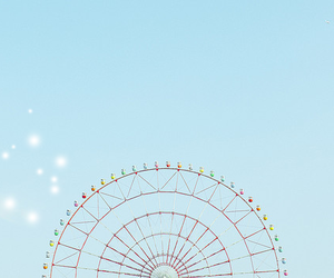 amusement park, indie, and landscape image