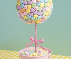 candy, colorful, and tree image