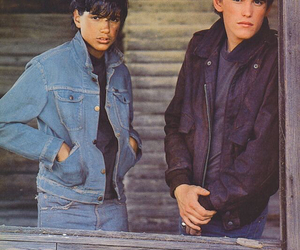 the outsiders, johnny cade, and 80s image